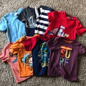 18 Month Boy T-Shirt Bundle